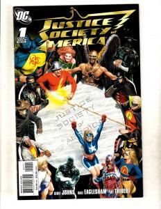 Lot Of 10 Justice Society DC Comic Books # 1 2 3 4 5 6 7 8 9 10 Batman Atom CJ9