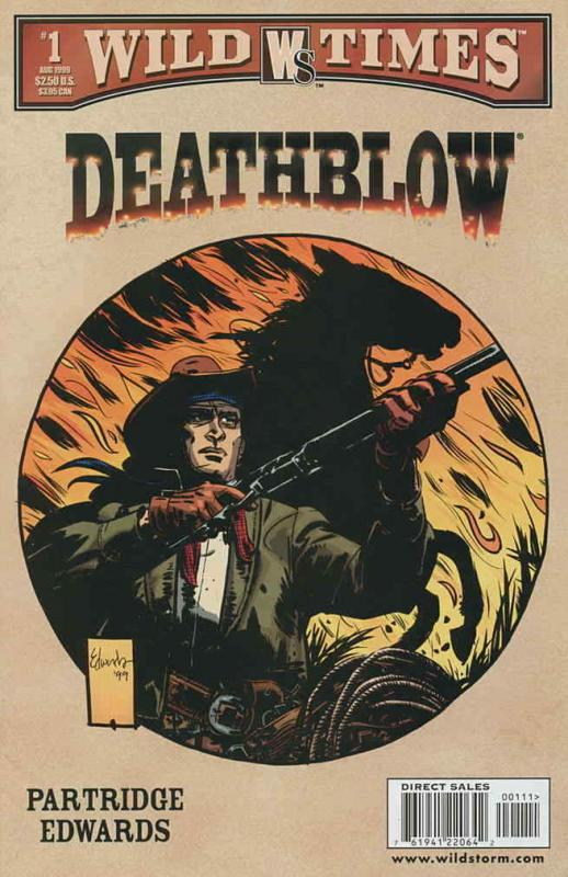 Wild Times: Deathblow #1 VF/NM; WildStorm | save on shipping - details inside