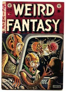 WEIRD FANTASY #16-FELDSTEIN aliens cover E.C. GOLDEN AGE-1952
