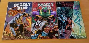 The Deadly Duo 1-3 Complete Set Run! ~ NEAR MINT NM ~ 1994 Image Comics