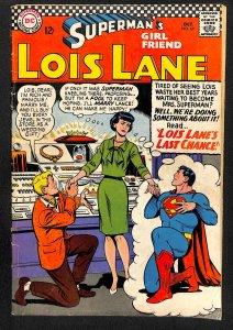 Superman's Girl Friend, Lois Lane #69 (1966)