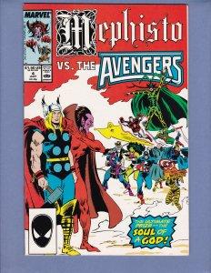 Mephisto vs #4 VF/NM Avengers Marvel 1987