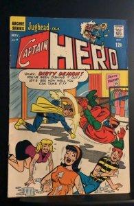 Jughead As Captain Hero #7 (1967)