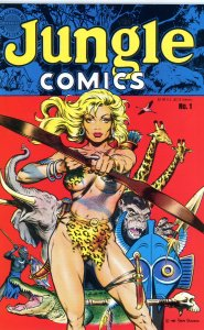 Jungle Comics 1  (1988) F/VF Dave Stevens!  Blackthorne Publishing