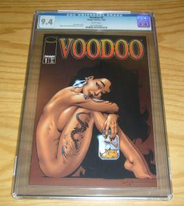 Voodoo #1 CGC 9.4 jason pearson variant - written by alan moore - image comics