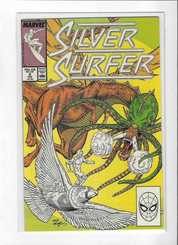 Silver Surfer #8 Marvel Comics Marshall Rogers NM