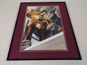 Marvels #3 Galactus Fantastic Four Framed 16x20 Poster Display Alex Ross