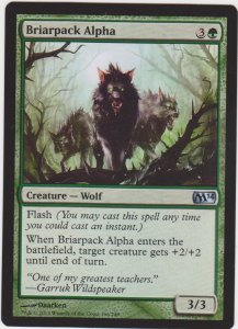 Magic the Gathering: Magic 2014 - Briarpack Alpha