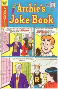ARCHIES JOKE BOOK (1954-1982)221 VF-NM June 1976 COMICS BOOK