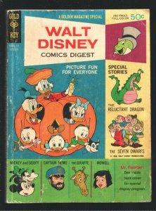 Walt Disney Comics Digest #4 1968-Carl Barks art-Donald Duck-Seven Dwarfs-Rel...