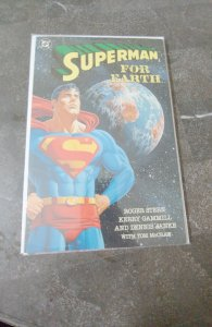 SUPERMAN FOR EARTH TB