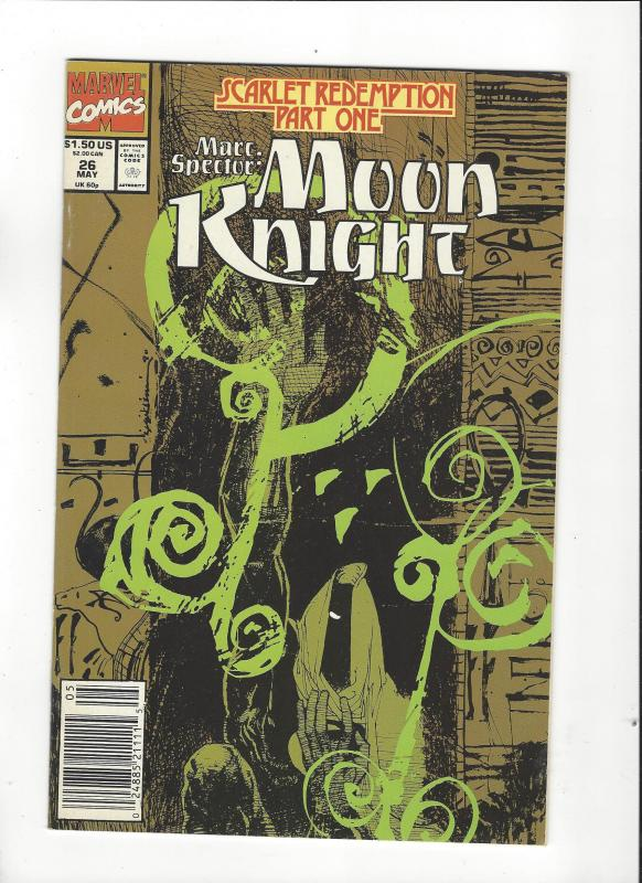 Marc Spector: Moon Knight #26 Scarlet Redemption NM