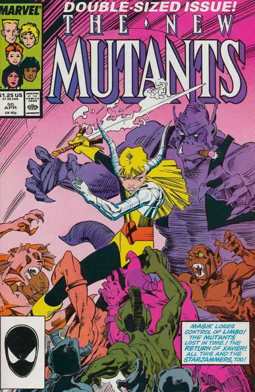 New Mutants, The #50 VF/NM; Marvel | save on shipping - details inside