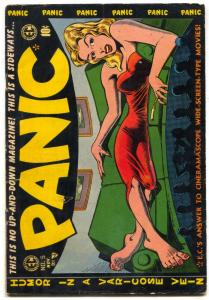 Panic #5 1954- EC Comics-Bill Elder-Wally Wood-VG