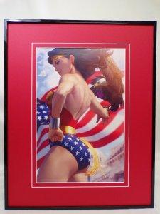 Wonder Woman #750 Framed 16x20 Poster Display DC Comics Artgerm GGA