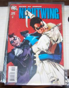 NIGHTWING  # 130  2007 DC COMICS  +dick grayson bride and groom