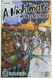 A NIGHTMARE ON ELM STREET #1 VF/NM 2005 'PARANOID' WRAP AVATAR COMICS