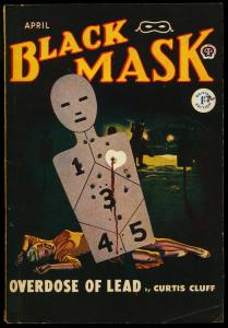 Black Mask Pulp April 1949- British Variant- Curtis Bluff VG/FN