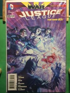 Justice League #23 The New 52 TRINITY WAR part 6