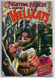 Our Fighting Forces #110 ORIGINAL Vintage 1967 DC Comics Lt Hunters Hellcats