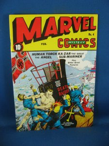 MARVEL MYSTERY COMICS 4 #26 ALAN LIGHT REPRINT