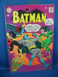 BATMAN 197 F+ CATWOMAN BATGIRL 1967