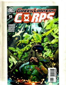 Lot of 12 Green Lantern Corps Comics #13 14 15 16 17 18 19 20 23 24 27 28 GK31