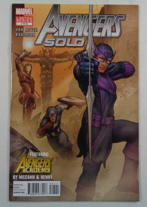 Avengers Solo #1 NM-/NM Front/Back Cover Photos Marvel 2011