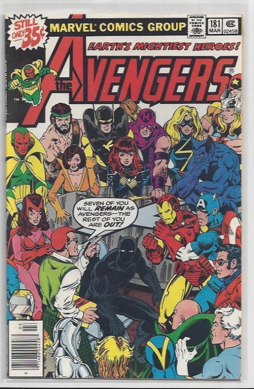 Avengers Issue #181 Scott Lang Debut Autographed Old School Style by John Byrne