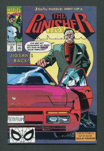 Punisher #35 / 9.2 NM - 9.4 NM  Jigsaw  Part One  July 1990