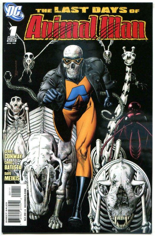 ANIMAL MAN #1 2 3 4 5 6, NM, Conway, Batista, 1-6, 2009, Last Days of, DC