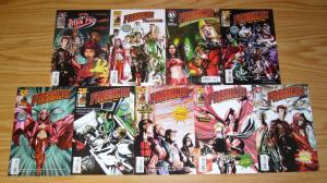 Seth Green's Freshmen #1-6 VF/NM complete series + yearbook + summer + more