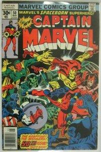 Captain Marvel #50 - 4.0 VG - 1977