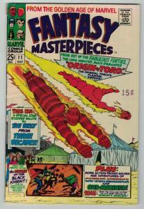 FANTASY MASTERPIECES(1966)11 VGF MARVEL GOLDEN AGE COMICS BOOK
