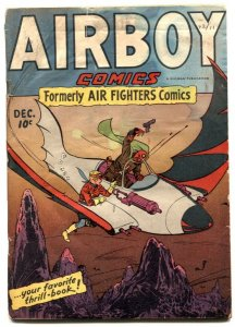 Airboy Vol. 2 #11 1945 -1st issue- Sky Wolf- G