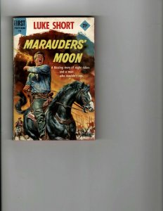 3 Books Marauder's Moon Beat Not The Bones The Torch of Life JK17