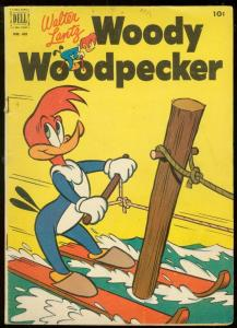 WOODY WOODPECKER-FOUR COLOR #416 1952-WALTER LANTZ VG