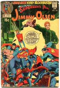 SUPERMAN'S PAL JIMMY OLSEN #135 136 138, GD+ VG+ FN, Jack Kirby,Darkseid