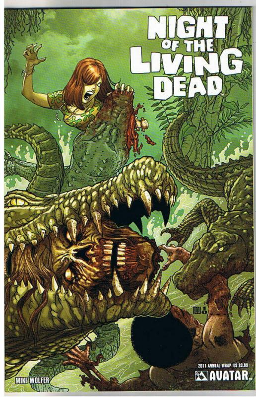 NIGHT of the LIVING DEAD Annual 2011, NM, Wrap, Zombies,  more NOTLD in store