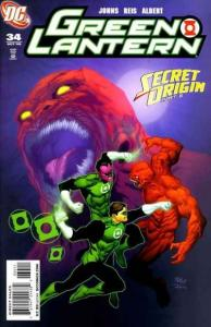 Green Lantern (2005 series) #34, NM- (Stock photo)