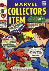 Marvel Collectors' Item Classics #16, Fine (Stock photo)