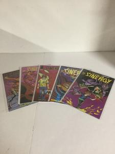 Sinergy 1-5 Lot Set Run Nm Near Mint Image Comics