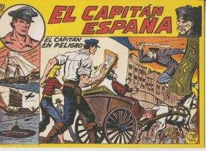 El Capitan España facsimil numero 22: El capitan en peligro