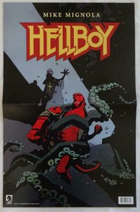 HELLBOY Promo Poster , 11 x 17,  2018, DARK HORSE,  Unused more in our store 077