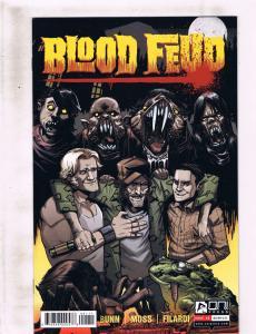 Lot Of 5 Blood Fued Oni Press Comic Books # 1 2 3 4 5 NM 1st Prints Bunn RF2
