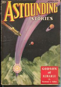 Astounding Stories 10/1936-Murray Leinster-John W Campbell JR-pulp sci-fi-VG