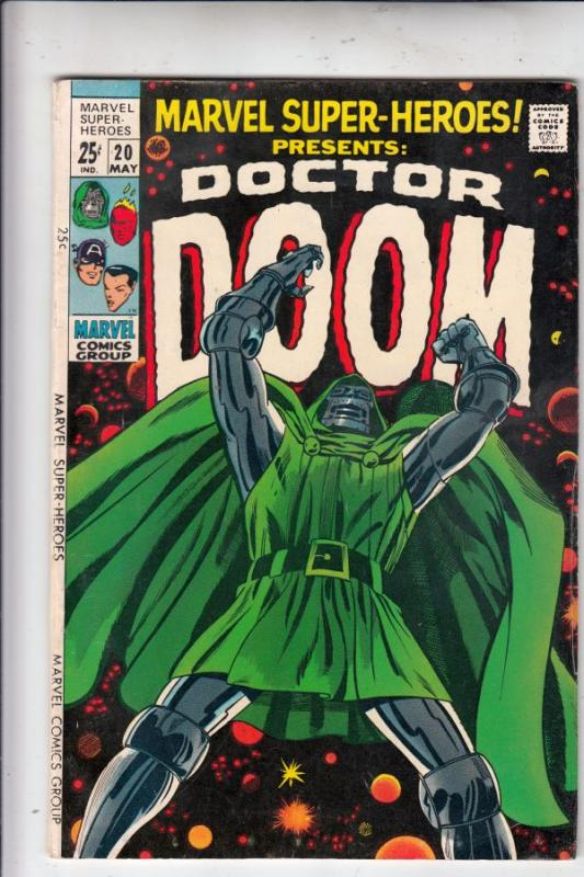Marvel Super-Heroes #20 (May-69) FN/VF High-Grade Doctor Doom