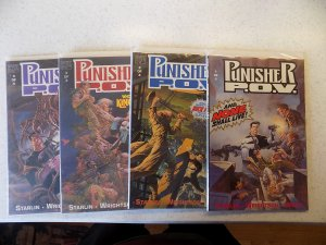 PUNISHER POV 1-4 COMPLETE SET NM MARVEL WRIGHTSON STARLIN ACTION