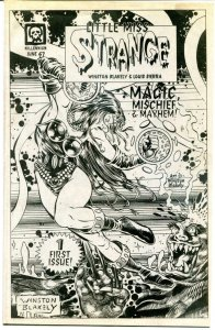 LITTLE MISS STRANGE 1, VF/NM, Preview, 1997,Winston Blakely,more Promos in store