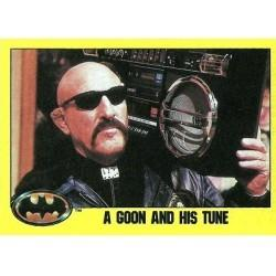 1989 Batman The Movie Series 2 Topps A GOON AND HIS TUNE #227